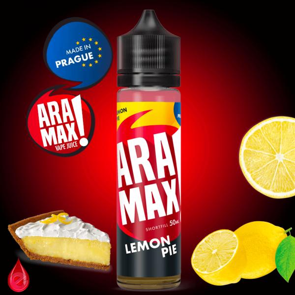 LEMON PIE (Tarte au citron) - ARAMAX - e-liquide 50ml