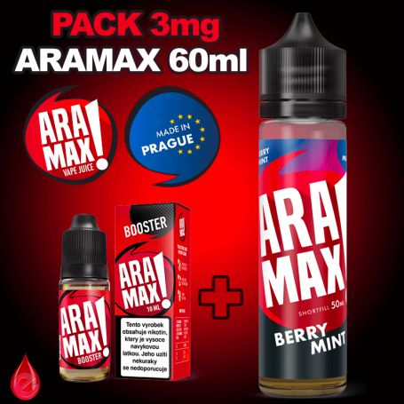 PACKS Pack 3mg 60ml ARAMAX