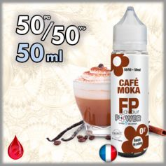 50ml 50/50 CAFE MOKA - Flavour POWER