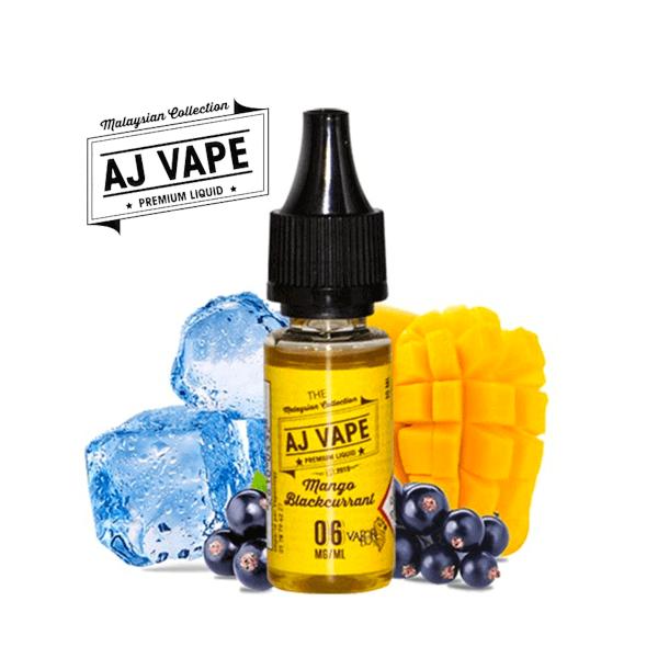 AJ VAPE Mango Blackcurrant - AJ VAPE - e-liquide 10ml