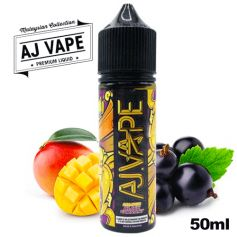 Mango Blackcurrant - AJ VAPE - e-liquide 50ml