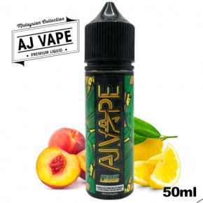 Peach Lemon - AJ VAPE - e-liquide 50ml