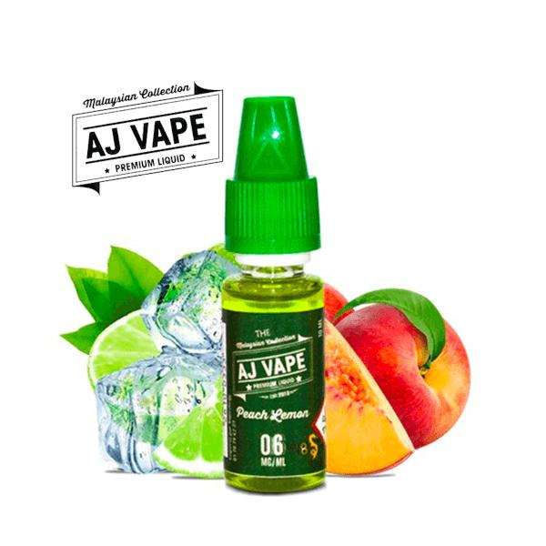 AJ VAPE Peach Lemon - AJ VAPE - e-liquide 10ml