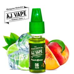 Peach Lemon - AJ VAPE - e-liquide 10ml