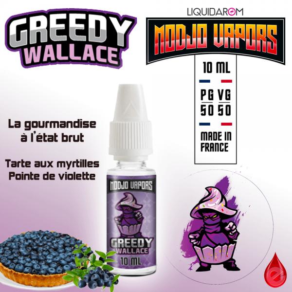 GREEDY WALLACE - MODJO VAPORS - E-LIQUIDE moins cher de France
