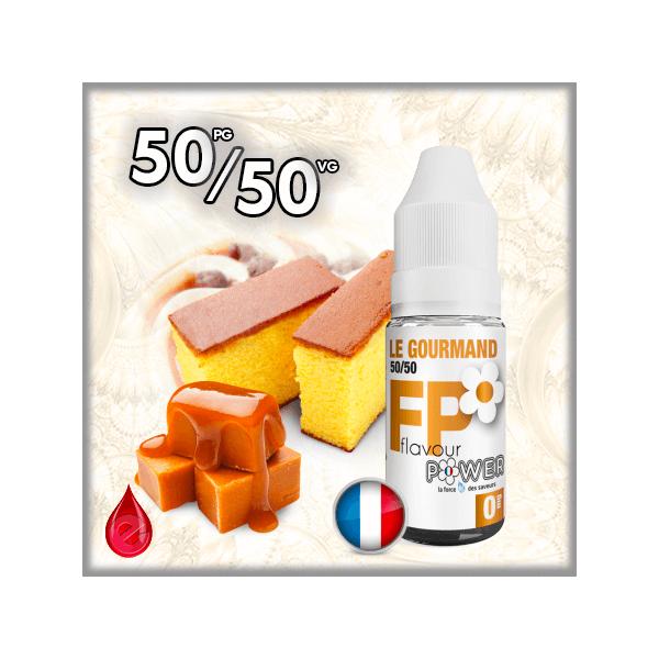 50/50 50/50 LE GOURMAND - Flavour POWER - e-liquide 10ml