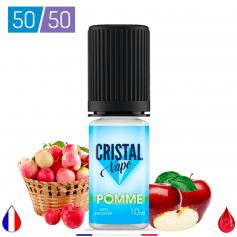 POMME - CRISTAL VAPE - E-LIQUIDE moins cher de France