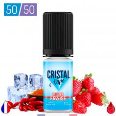 MISTER FRAISE - CRISTAL VAPE - E-LIQUIDE moins cher de France