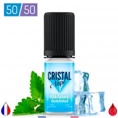 MENTHE GLACIALE - CRISTAL VAPE - E-LIQUIDE moins cher de France