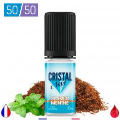 CLASSIC MENTHE - CRISTAL VAPE - E-LIQUIDE moins cher de France