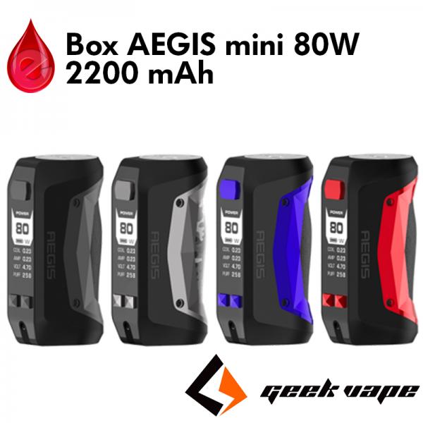 Box AEGIS mini 80w - GeekVape