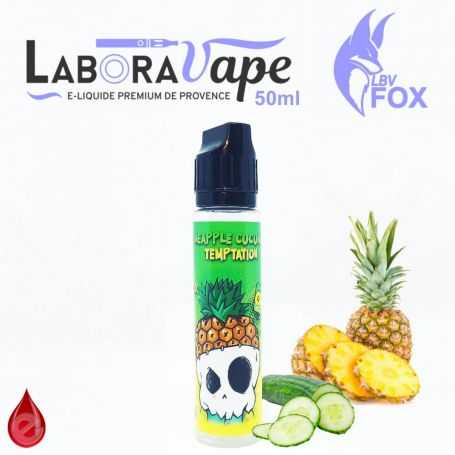 PINEAPPLE CUCUMBER TEMPTATION FRESH - LBV FOX - LABORAVAPE - E-LIQUIDE moins cher de France
