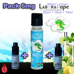 PACKS Nico-Boostable Pack 6mg 70ml ELIXIR DE DRAGON