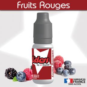 FRUITS ROUGES ★ EDEN by e-liquidz DESTOCKAGE DLUO