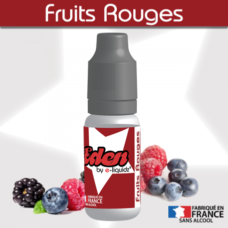 FRUITS ROUGES ★ EDEN by e-liquidz DESTOCKAGE DLUO