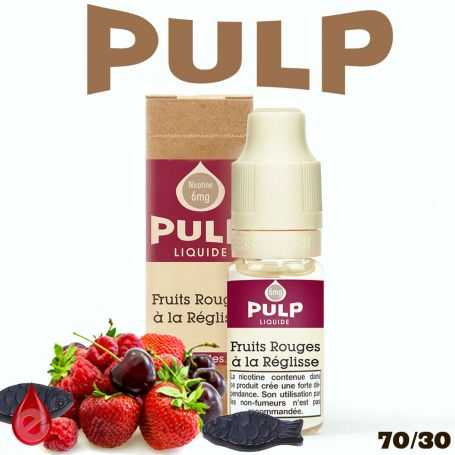 FRUITS ROUGES REGLISSE - e-liquide PULP