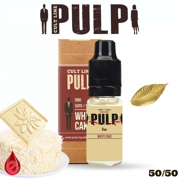 WHITE CAKE - e-liquide CULT LINE par PULP
