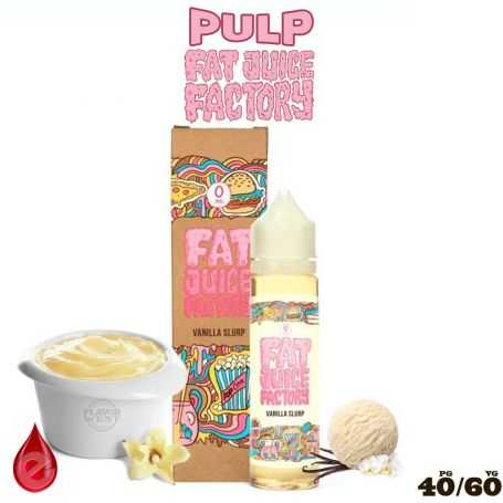 VANILLA SLURT - e-liquide 50ml FAT JUICE FACTORY par PULP