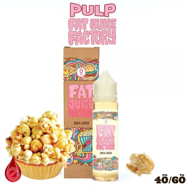 SOFA LOSER - e-liquide 50ml FAT JUICE FACTORY par PULP