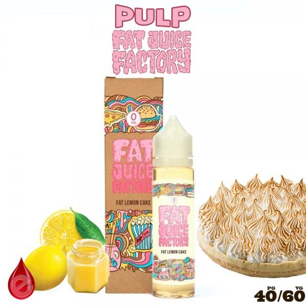 FAT LEMON CAKE - e-liquide 50ml FAT JUICE FACTORY par PULP