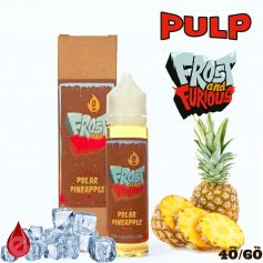POLAR PINAPPLE - e-liquide 50ml FROST AND FURIOUS par PULP