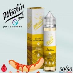 BANANE CARAMELISEE - MACHIN e-liquide 50ml