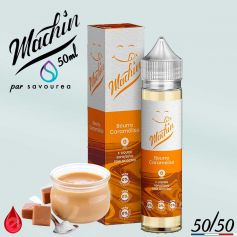 BEURRE CARAMELISE - MACHIN e-liquide 50ml - E-LIQUIDE moins cher de France
