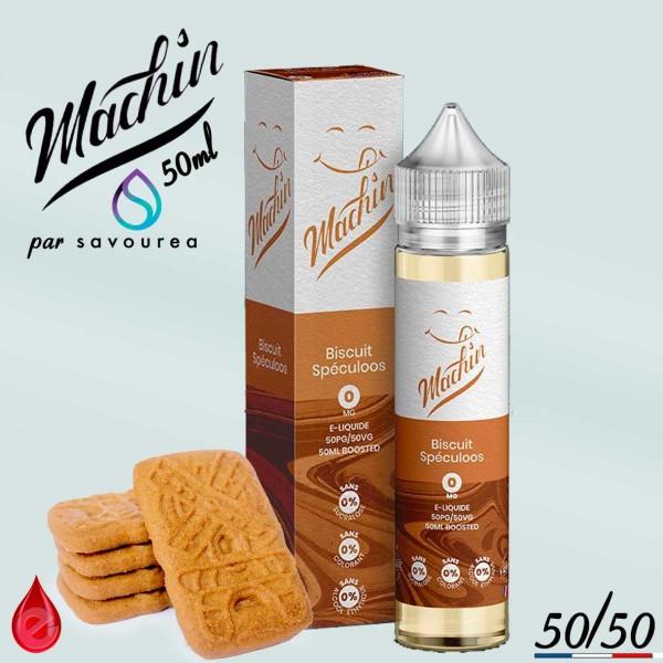 BISCUIT SPECULOOS - MACHIN e-liquide 50ml - E-LIQUIDE moins cher de France