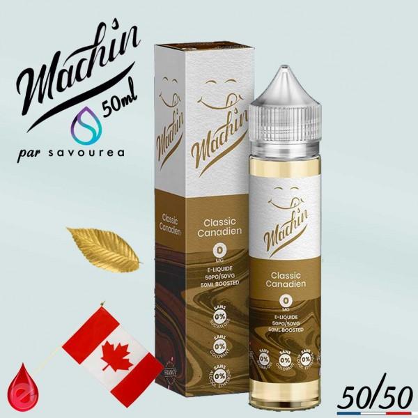 CLASSIC CANADIEN - MACHIN e-liquide 50ml - E-LIQUIDE moins cher de France