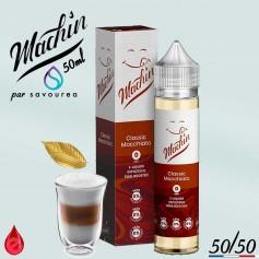 CLASSIC MACCHIATO - MACHIN e-liquide 50ml - E-LIQUIDE moins cher de France