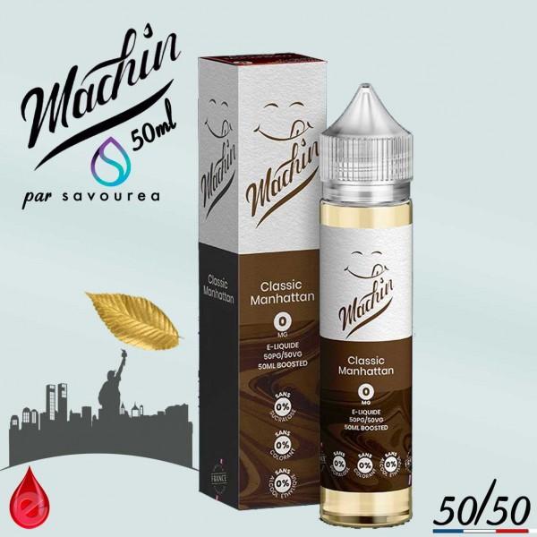 CLASSIC MANHATTAN - MACHIN e-liquide 50ml - E-LIQUIDE moins cher de France