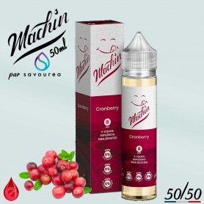 CRANBERRY - MACHIN e-liquide 50ml
