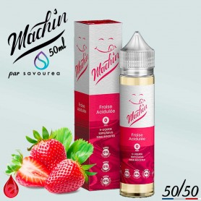 FRAISE ACIDULEE - MACHIN e-liquide 50ml