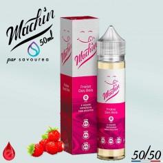 FRAISE DES BOIS - MACHIN e-liquide 50ml - E-LIQUIDE moins cher de France