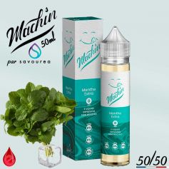 MENTHE EXTRA - MACHIN e-liquide 50ml - E-LIQUIDE moins cher de France