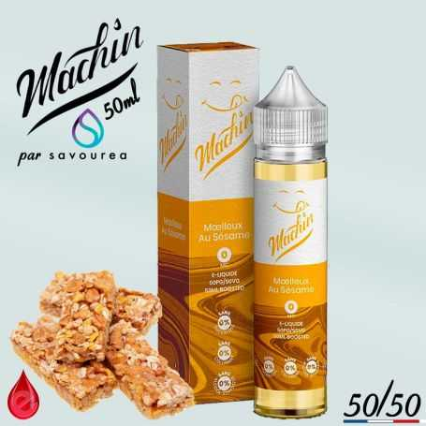 MOELLEUX AU SESAME - MACHIN e-liquide 50ml