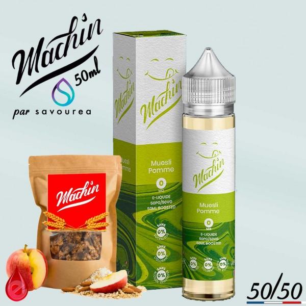 MUESLI POMME - MACHIN e-liquide 50ml