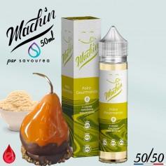 POIRE GOURMANDE - MACHIN e-liquide 50ml - E-LIQUIDE moins cher de France