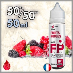 50ml 50/50 FRUITS ROUGES - Flavour POWER