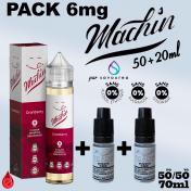 PACKS Nico-Boostable Pack MACHIN 6mg 70ml de SAVOUREA