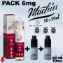 PACKS Nico-Boostable Pack MACHIN 6mg 70ml de SAVOUREA
