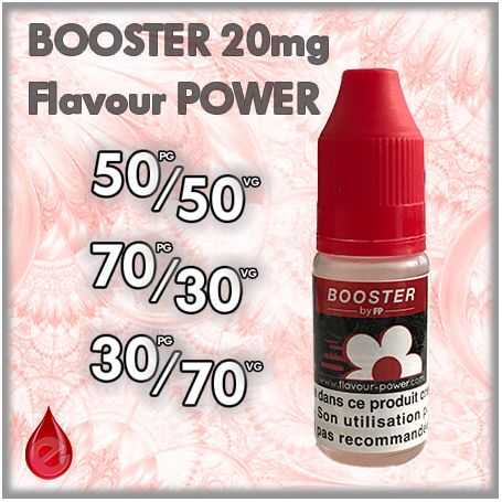 BOOSTER NICOTINE BOOSTER 20MG Flavour POWER