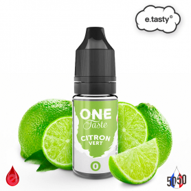 CITRON VERT 10ml - ONE TASTE par e-tasty
