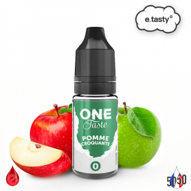 POMME CROQUANTE 10ml - ONE TASTE par e-tasty