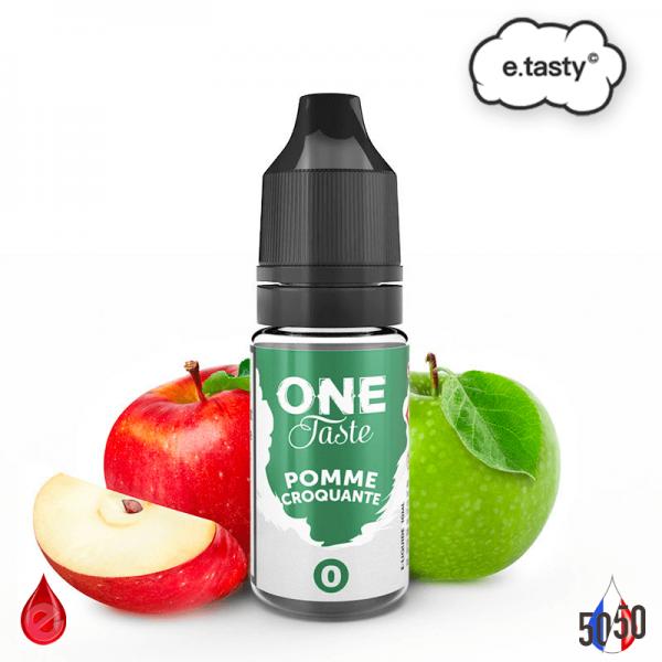 POMME CROQUANTE 10ml - ONE TASTE par e-tasty