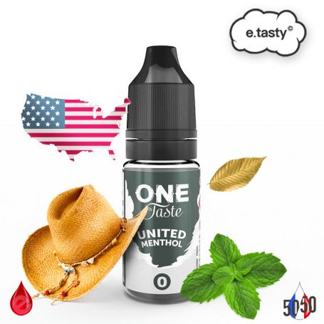UNITED MENTHOL 10ml - ONE TASTE par e-tasty