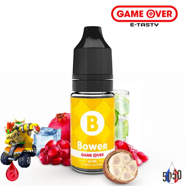 BOWER 10ml - GAME OVER par e-tasty