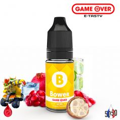 BOWER 10ml - GAME OVER par e-tasty