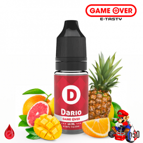 DARIO 10ml - GAME OVER par e-tasty