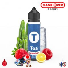 TOA 50ml - GAME OVER par e-tasty